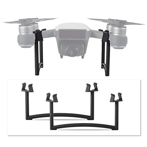 Deyard Landing Gear für DJI Start up Drone - 2 in 1 Beinhöhe Extender Stabilisatoren (Schwarz)
