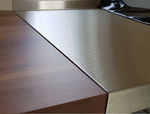 abschlussleiste arbeitsplatte edelstahl. Black Bedroom Furniture Sets. Home Design Ideas