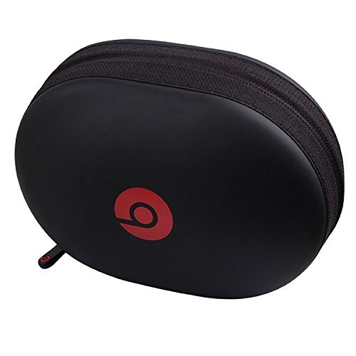 Kopfhörer Monster Wireless (Matt Reißverschluss Kopfhörer Tragetasche für Beats Monster by Dr. Dre Studio, Solo Wireless, Solo, Solo HD Over-Ear Kopfhörer Ersatz Tasche Box)