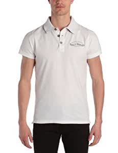 Helly Hansen Oslo Fjord Graphic Polo Manche courte avec broderie homme Blanc S