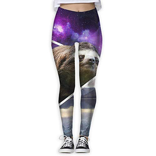 Yogahosen, Trainingsgamaschen,Women's Skinny Yoga Pants Funny Sloth Fashion Jogger Pants Workout Running Leggings -