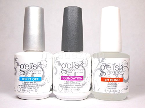 Harmony Gelish Set mit Überlack/Unterlack /pH Bond - Gelish Bond Ph