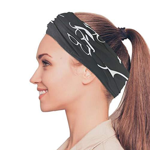 Plsdx Coole Mode Sonnenbrillen elastische Stirnbänder Kopf Wickeln Schal Sport Schweißband Gesichtsmaske Magie Schal Haarschmuck Bands Krawatten für Frauen Mädchen Laufen Fitness Yoga