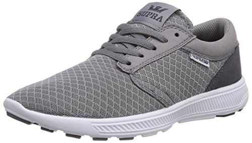 Supra Hammer Run, Sneakers Basses Adulte Mixte Gris (Titanium - White     Ttn)