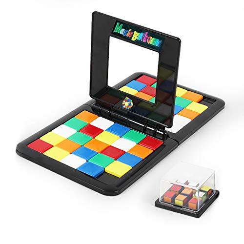 JOSE9A Kinder Kinder pädagogische Puzzle Blöcke Tabelle Spiel interaktives Geschenk