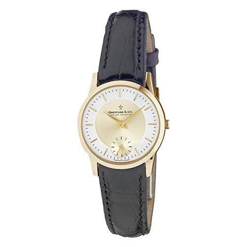 Dreyfuss & Co dls00002/03–Orologio per Donna, Cinturino in pelle colore marrone