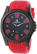 Burgmeister Herren-Armbanduhr XL Analog Quarz Silikon BM606-624