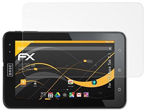 ZTE Base Tab 7.1 Displayschutzfolie - 2 x atFoliX FX-Antireflex blendfreie Schutzfolie