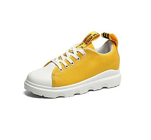 MYI Chaussures de Sport Décontractées pour Femmes Confortables Appartements Été Nouveau Noir/Vert/Blanc/Jaune Taille 36-40