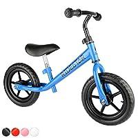 ToyStar Childrens Kids Balance Bike Metal Boys Girls Running Walking Training Bicycle