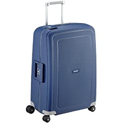 Samsonite S'Cure - Spinner 69 - 4,20 Kg Valise, 69 cm, 79 L, Bleu (Dark Blue)