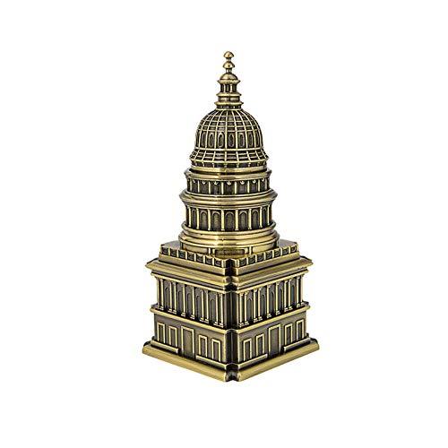 Bewegliche einziehbare Zahnstocher-Halter, Metallhandwerk-Inneneinrichtungs-Dekorations-kreative europäische Architektur das Weiße Haus
