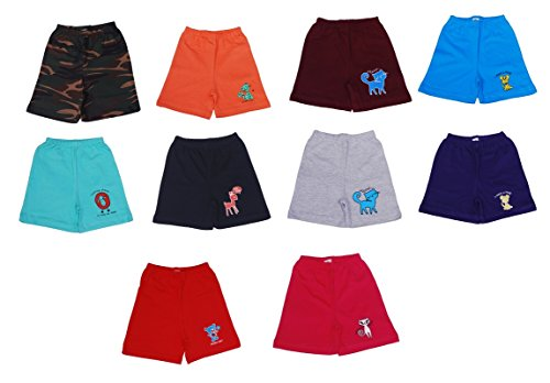 Stable Impex Short For Boys - Pack of 10 (2 Year)