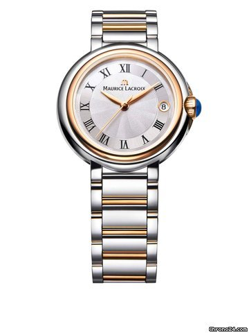 Maurice Lacroix Fiaba Ladies 'Bracelet Stainless Steel Silver Rose Gold Analog Watch