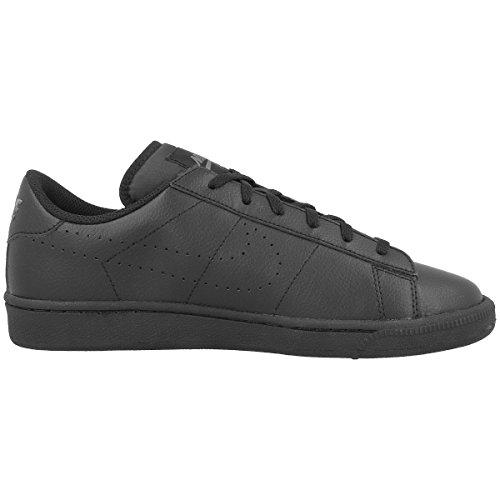 Nike Jungen Tennis Classic (GS) Turnschuhe, Weiß, 38,5 EU Black (Schwarz / Schwarz-Dunkelgrau)