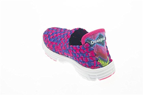 Desigual SHOES_CAMPING, Chaussons fille Violet