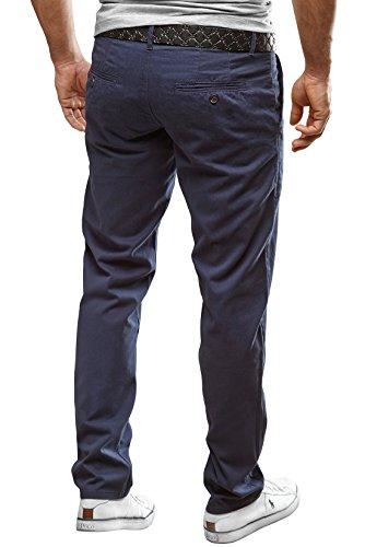MERISH Pantalone Chino Slim Fit Pantalon Chino En Coton Droit Business Casual moderne et adapté pour toutes les occasions Modell J49 Marron - Marron