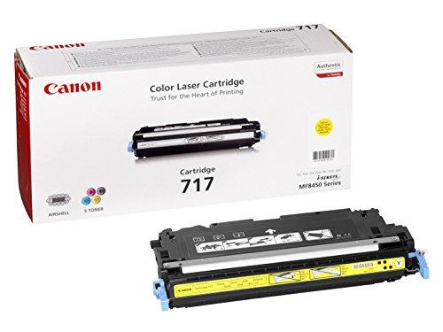 Preisvergleich Produktbild Canon 2575B002 717 Tonerkartusche gelb 4.000 Seiten