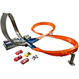 Hot Wheels Figure 8 Raceway Track Set, Multi Color