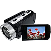"JIANGfu Digital Camera Camcorder, 2.4"" TFT LCD Screen HD 1080P Video Camcorder Handheld 16X Digital Zoom Camera (Black)"