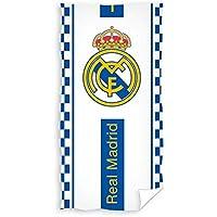 TEXTIL TARRAGO Toalla de Playa Real Madrid 70x140 cm 100% algodón Licencia  oficia 61e8a0d14a7