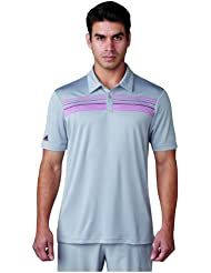 Adidas ClimaCool 3Stripes Competition T-shirt Polo de Golf Homme