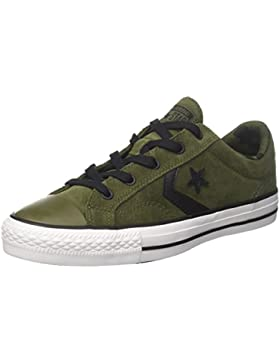 Converse Star Player Ox Herbal/Black/White, Zapatillas Unisex Adulto