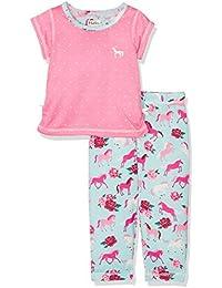 Hatley Polyester Short Sleeve Set, Pyjamas Fille