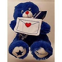orsetto peluche blu con tubo baci perugina 42 6c1b4823741