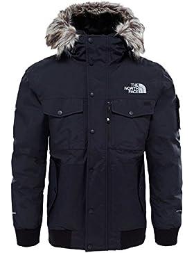 The North Face M Gotham Jacket Chaqueta, Hombre, Negro/Gris (TNF Black/High Rise Grey), M