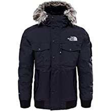 The North Face M Gotham Jacket Chaqueta, Hombre, TNF Black/High Rise Grey, S