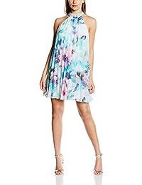 Lipsy Women's Flower Pleated Dress