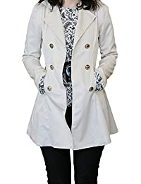 SODACODA Women`s Hourglass Trench Coat