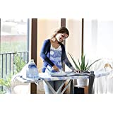 Parasnath Royal Steel Foldable Ironing Board/Ironing Table with Iron Holder Aluminised Ironing Surface - Made in India