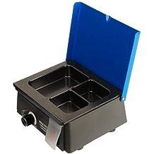 Laboratorio dental Calentador / fundidor de cera de 3 Pot Laboratorio de prótesis dental de Levin
