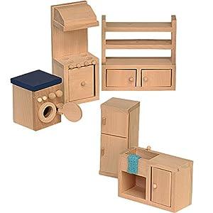 Beluga 70120  - Muebles de Madera para la Cocina de casa de muñecas