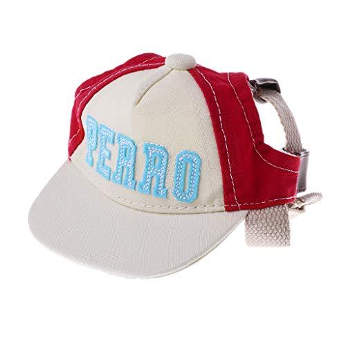 zrshygs New Summer Pet Dog Hat Dog Outdoor Baseball Cap Pet Travel Breathable Sun Cap