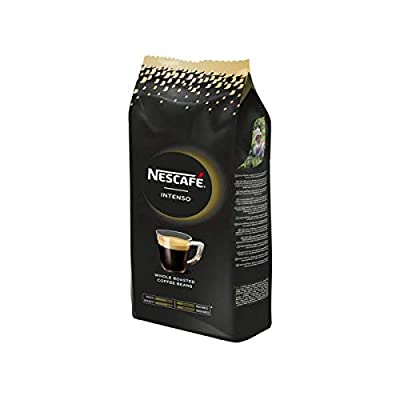 Nescafé Intense - 2.2lbs (1kg) Whole Roasted Coffee Beans, 100% Coffee and 100% Natural - Robusta and Arabica Blends. Premium Nestlé Coffee from Nestlé