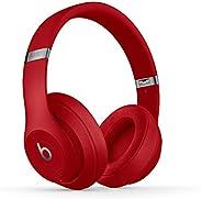 beats Studio3 Wireless Over‑Ear Headphones Red
