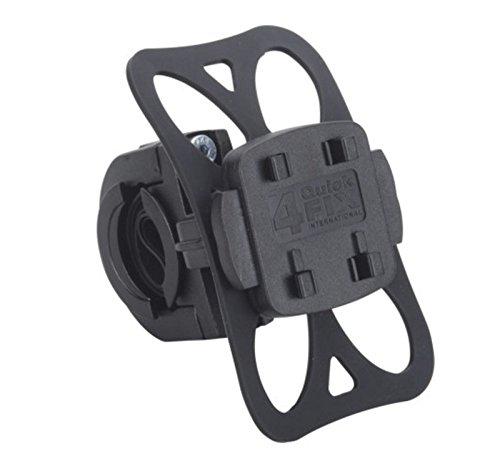 KRS - HF3+ Fahrrad Halterung / Fahrradhalter für Falk Tiger Geo, Teasi one , Teasi one 2 , Teasi Pro und SMAR.T Power (vibrationsfrei, Sicherungsgummi, schwarz, QuickFix-System, Made in Germany) (4210 Gps)