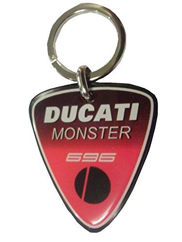 Portachiavi in resina Ducati Monster