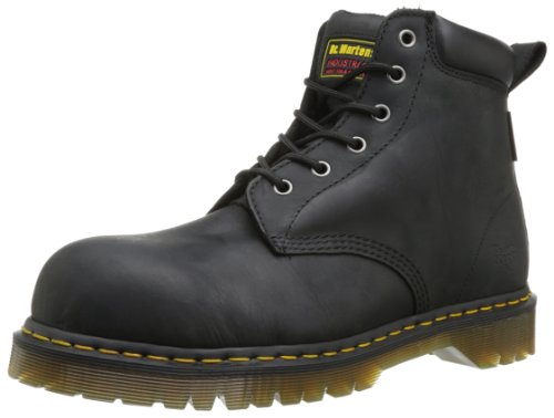 Dr Martens / Doc Martin Forge ST Steel Toe Safety Workboots S3 - Leather Nero