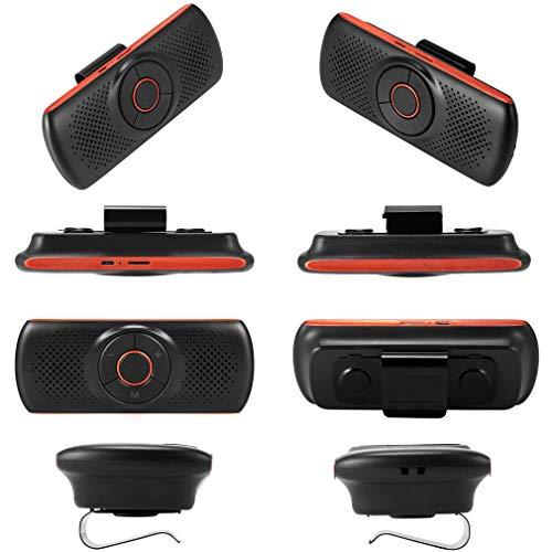 tter/Car Wireless Charger/Zwei-Maschinen-Verbindung/Long Standby/Multimedia-Lautsprecher/Voice Broadcast,Orange ()