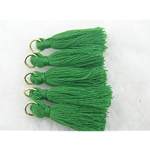 33colores Avail.–-50pcs Silky hecho a mano pequeño (1,4