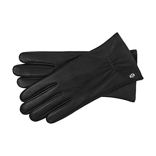 Roeckl Damen Handschuhe 11013-443, Schwarz (Black 000), 7