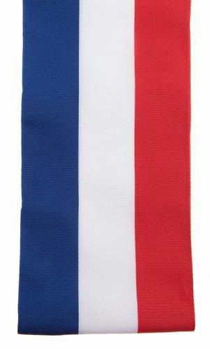 SANTEX 4058-0, Echarpe du Maire de 8 cm x 2 mètres, tricolore