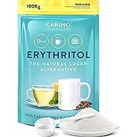 Erythritol polvo Sustituto del azúcar con cero calorías - 1kg