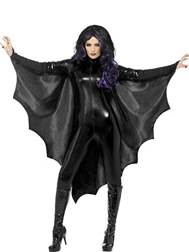 Smiffy's 23133 Vampir-Fledermausflügel, (Halloween Flügel)
