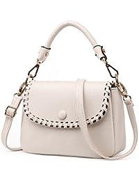 Las mujeres de moda de cuero pu Messenger Mini hombro bolsas/Bolsos Tote,beige