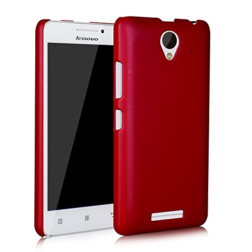 WOW Imagine(TM) Rubberised Matte Hard Case Back Cover For LENOVO A 5000 A5000 (Maroon Wine Red)  available at amazon for Rs.145